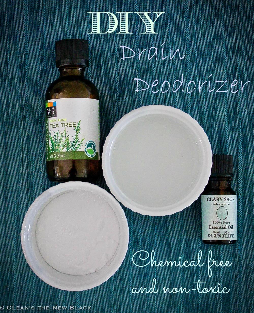 DIY Drain Garbage Disposal Cleaner non-toxic