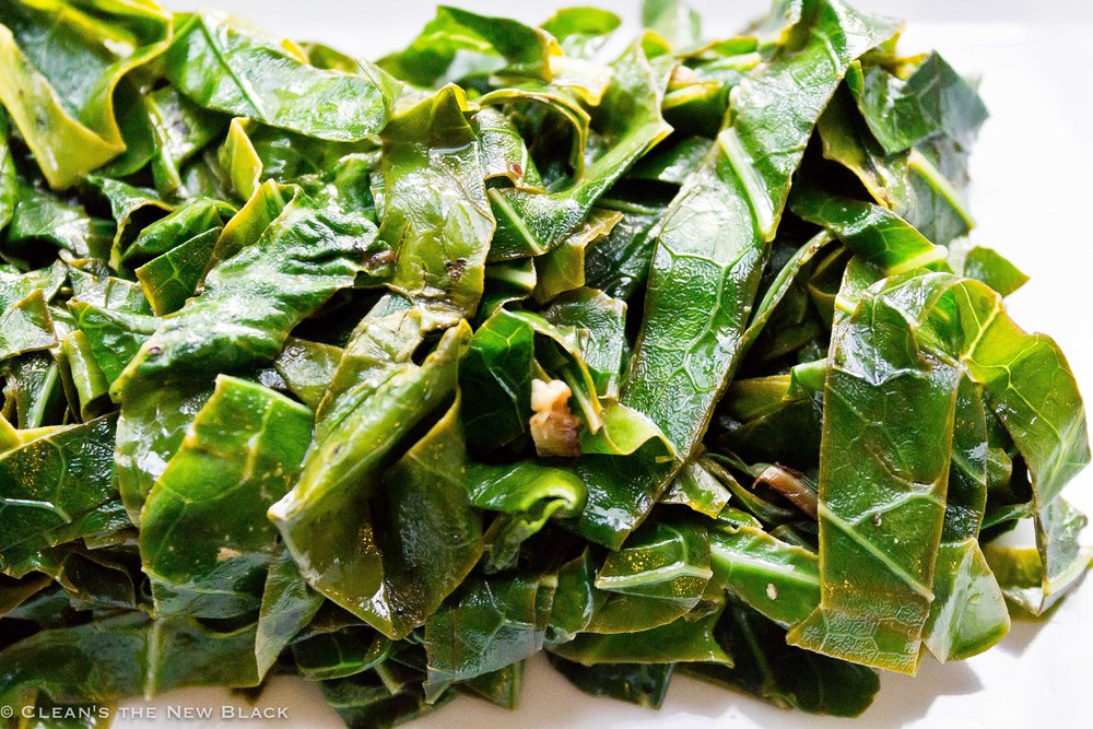 Micro Orange Collard Greens