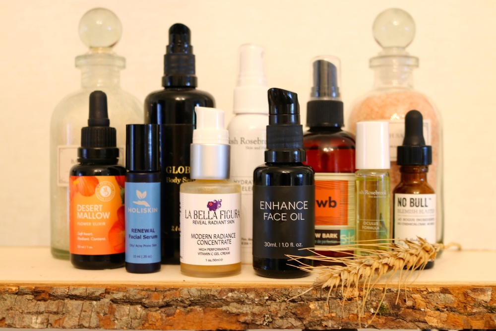 Serums and Oils from Sarita's Cabinet