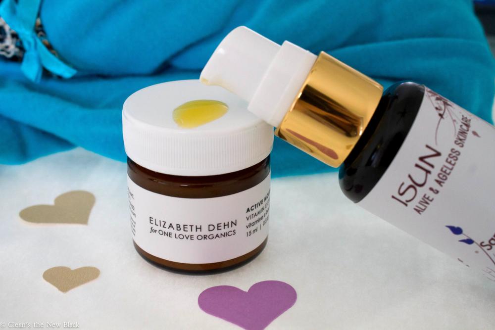 ISUN Saphire Facial Oil and One Love Organics Vitamin E Eye Balm Review