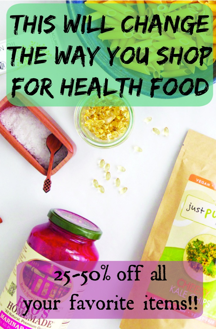 A revolutionary online market is sweeping the health food industry. Save up to 50% off retail at this members only store. They make health food affordable for even the smallest of budgets.