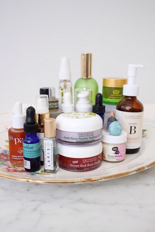 Lauren Burkitt's favorite green beauty products
