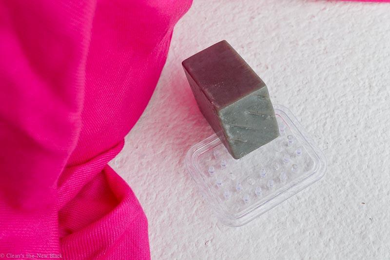 Osmia Organics Black Clay Facial Soap review