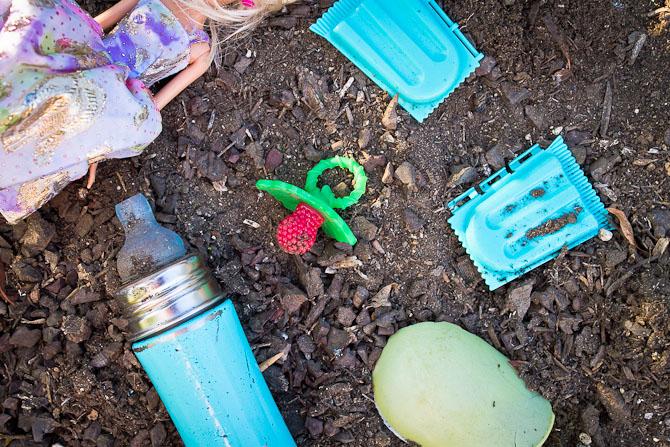 Dirt good for children