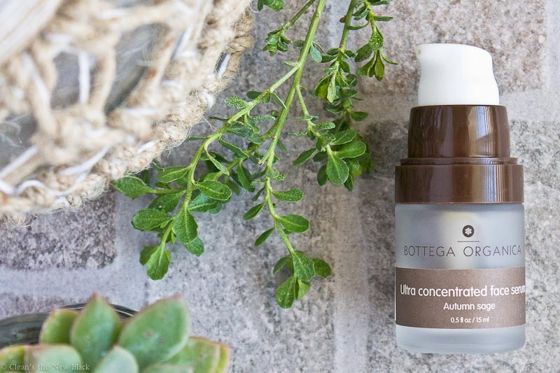 Bottega Organica Ultra Concentrated face serum review