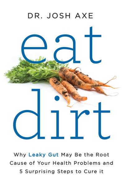 review of Eat Dirt by Dr. Axe