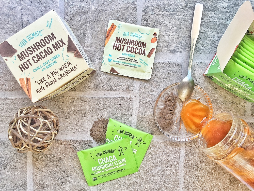 Coffee with no crash, Four Sigmatic Mushroom Coffee