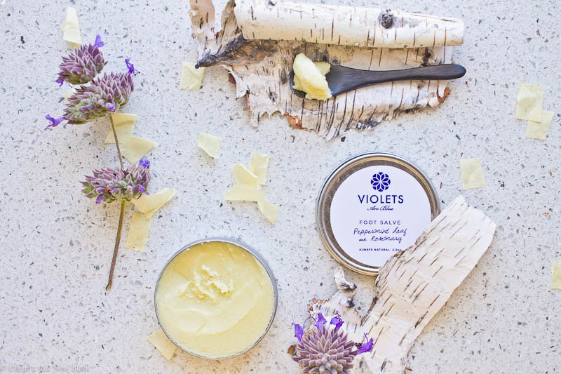 Violets Are Blue Foot Salve Review