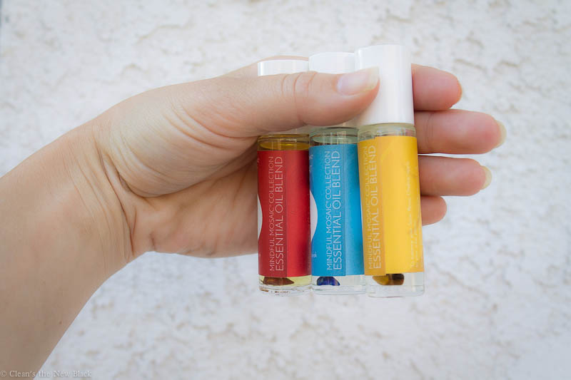 gem infused essential oils for chakras