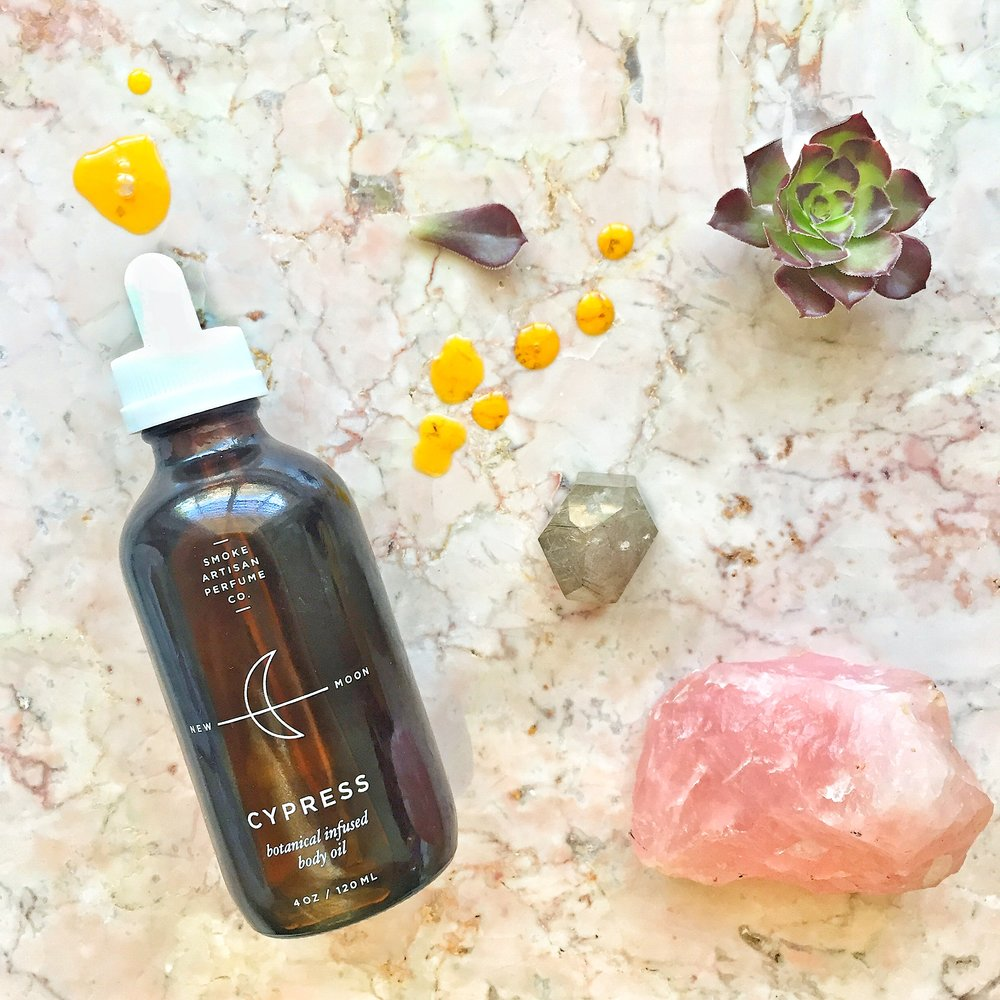 Smoke Perfume Co. New Moon Body Oil