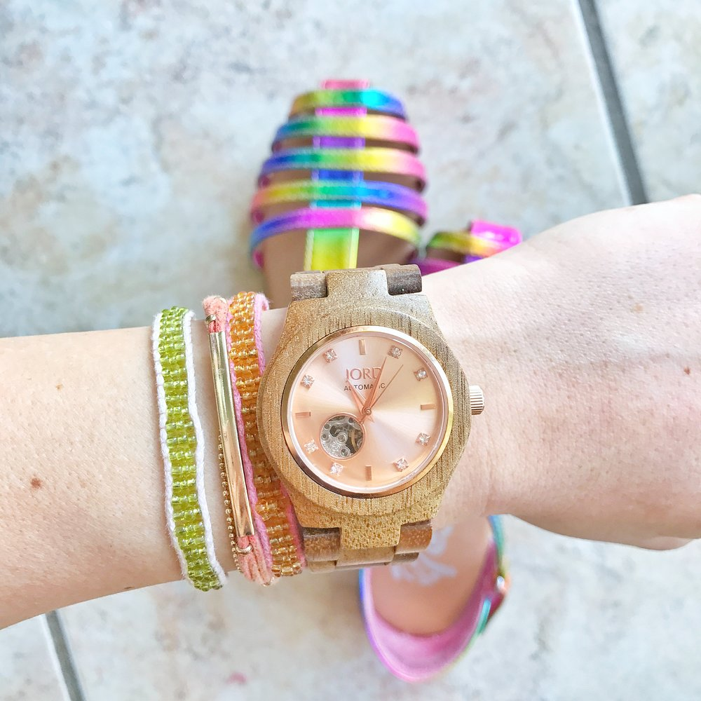 JORD womens wood watch