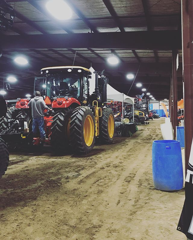 Everybody's getting set up for the Ag Expo- starts tomorrow! Here's a sneak peek of some of the vendors