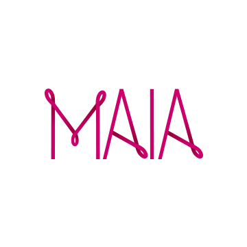 Maia Logo | Branding by Sugar & Gold