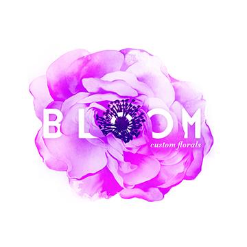 Bloom Logo | Branding by Sugar & Gold
