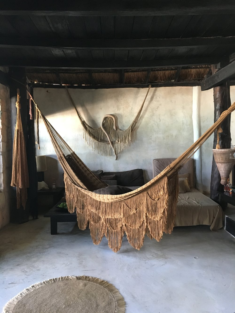 Sugar & Gold | Tulum, Mexico | Coqui Coqui Gold Hammock