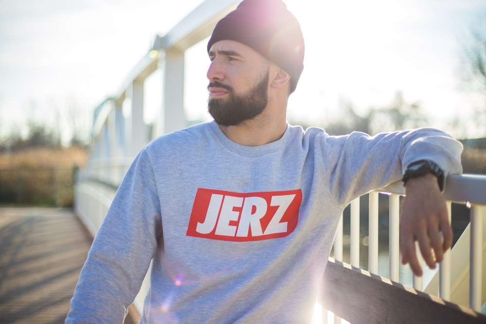 from NVC to NVC.  Picture of  Mario Rubén Carrión , wearing  JERZ Apparel , taken by  Adrian Gutierrez.