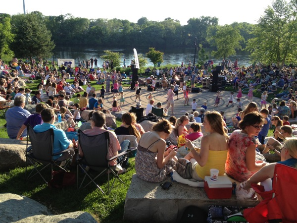 Sounds Like Summer Concerts Phoenix Park, Eau Claire