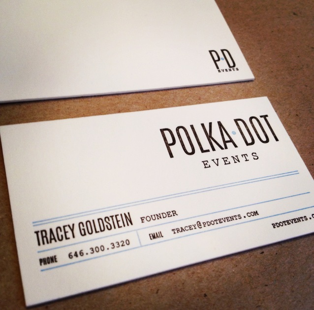 polka-dot-events-letterpress-business-card