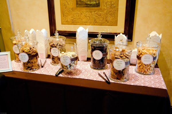 Cookie Bar via Wedding Bee