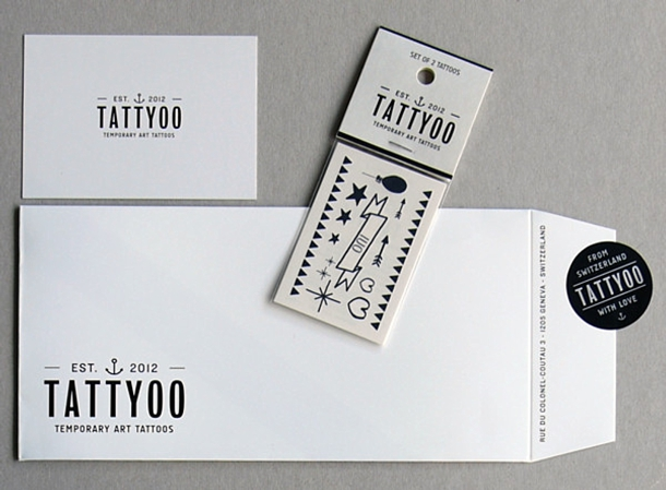Temporary Tattoos via South Bound Bride