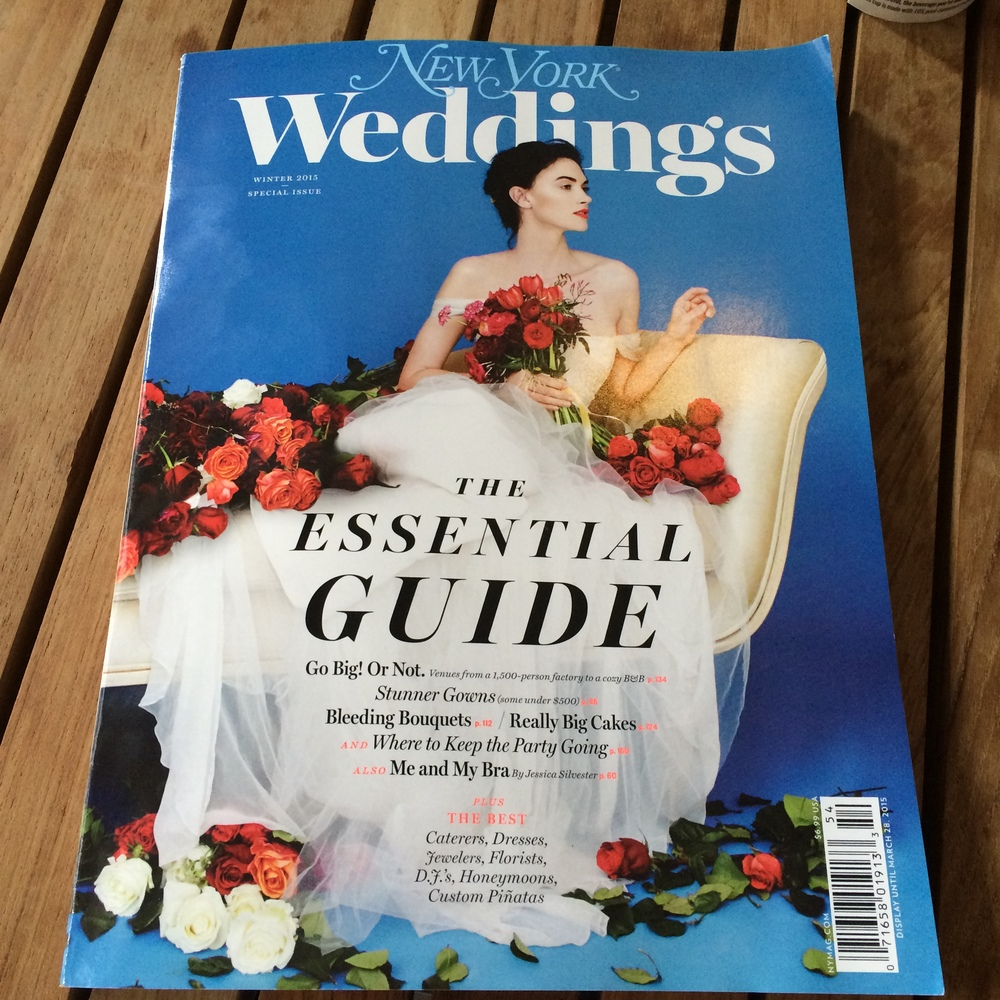 New York Magazine Weddings 2015