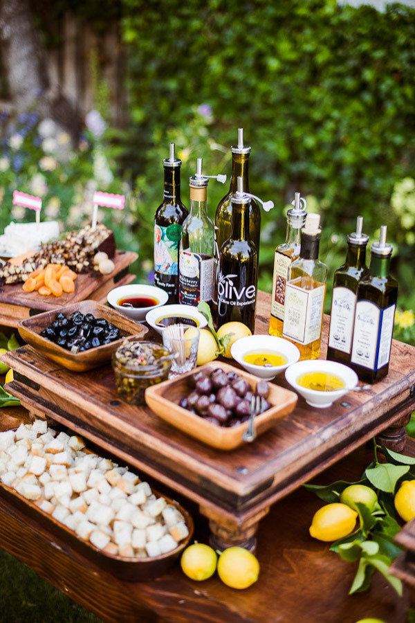 Olive Oil Station via Style Me Pretty