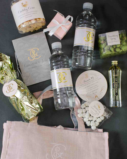 wedding welcome bag