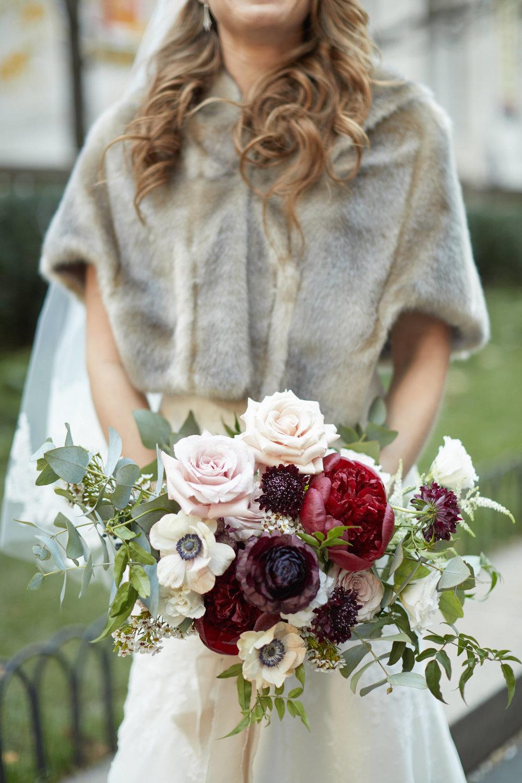 Marsala Peony Bouquet