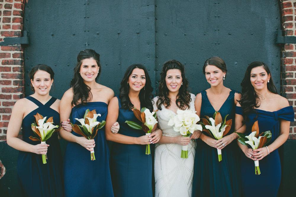 magnolia bridesmaids