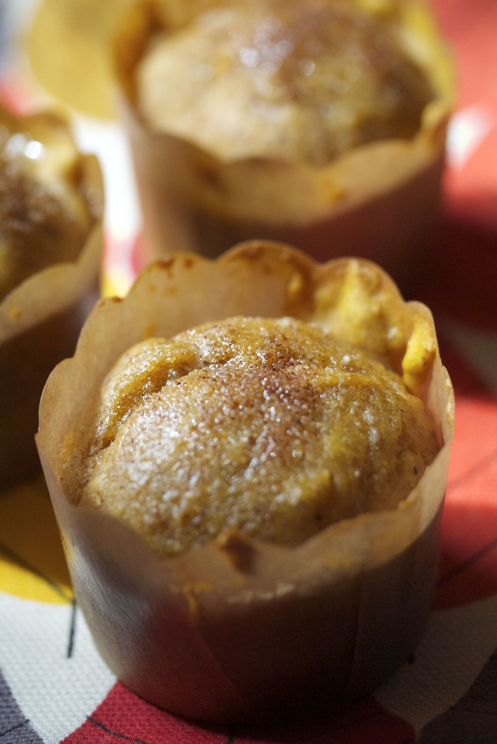 delish pumpkin spice mini muffins