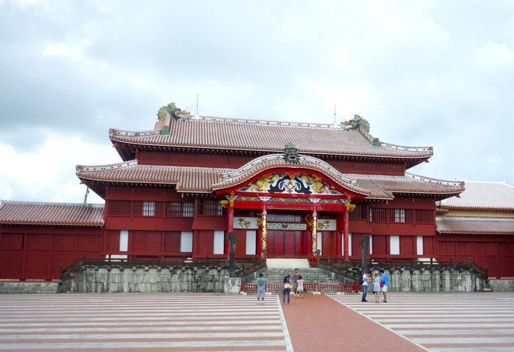 Inside the Shuri Castle grounds