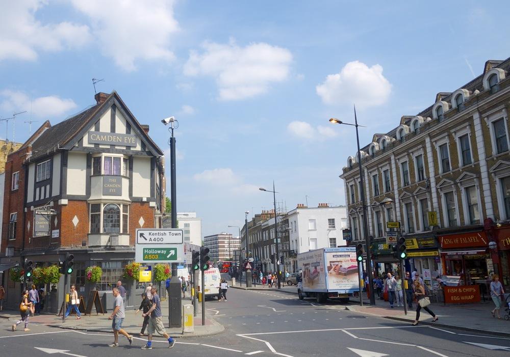 A street in Camden, London