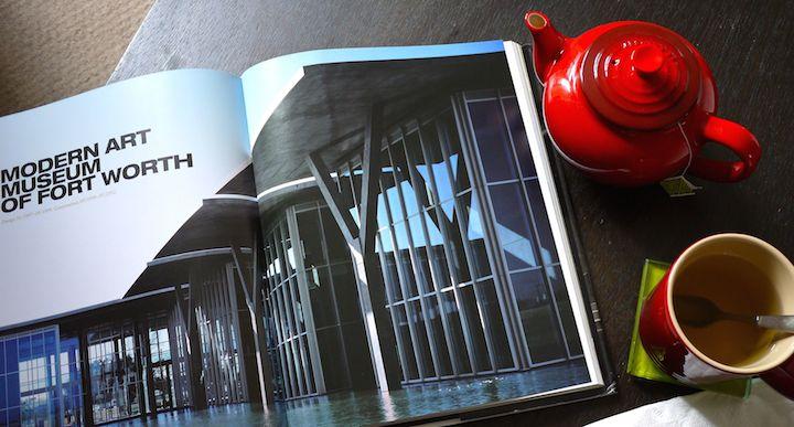 architecture tea table book