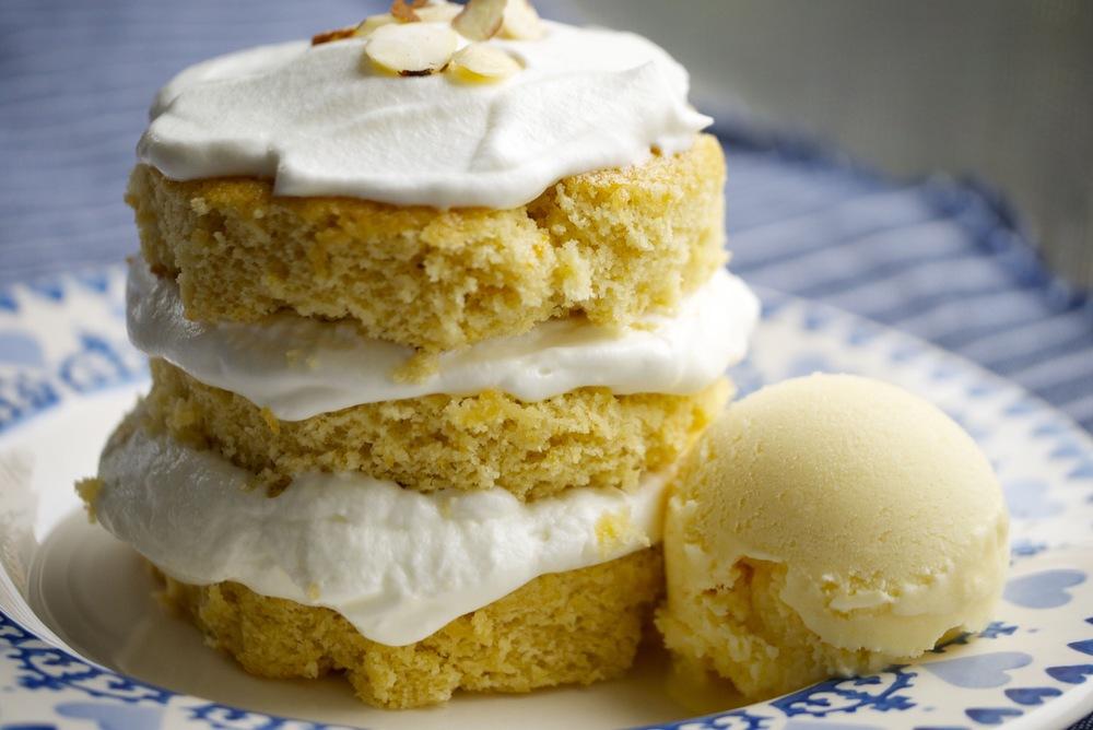 14 amaretto cake &orange ice cream.jpg