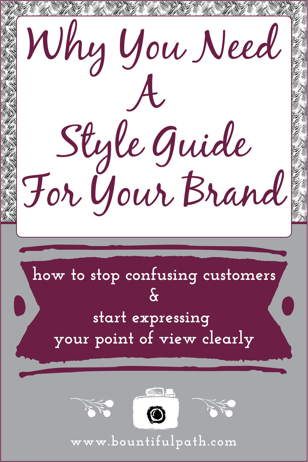 Why you need a style guide for your brand from Bountiful Path
