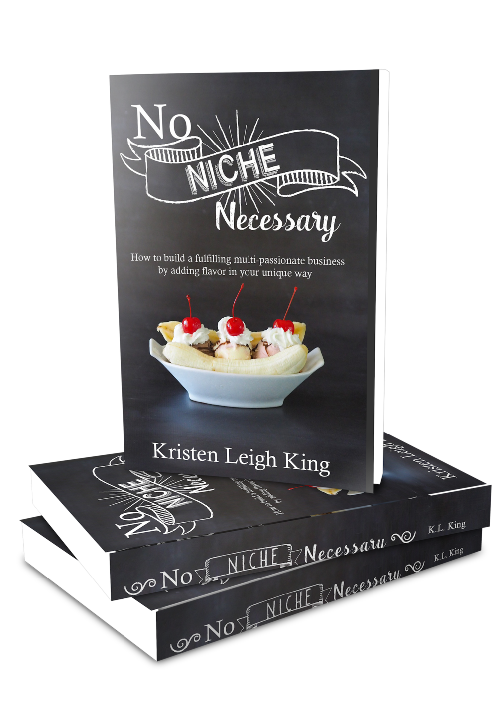 No Niche Necessary book for building a fulfilling multi-passionate business that is unique to you