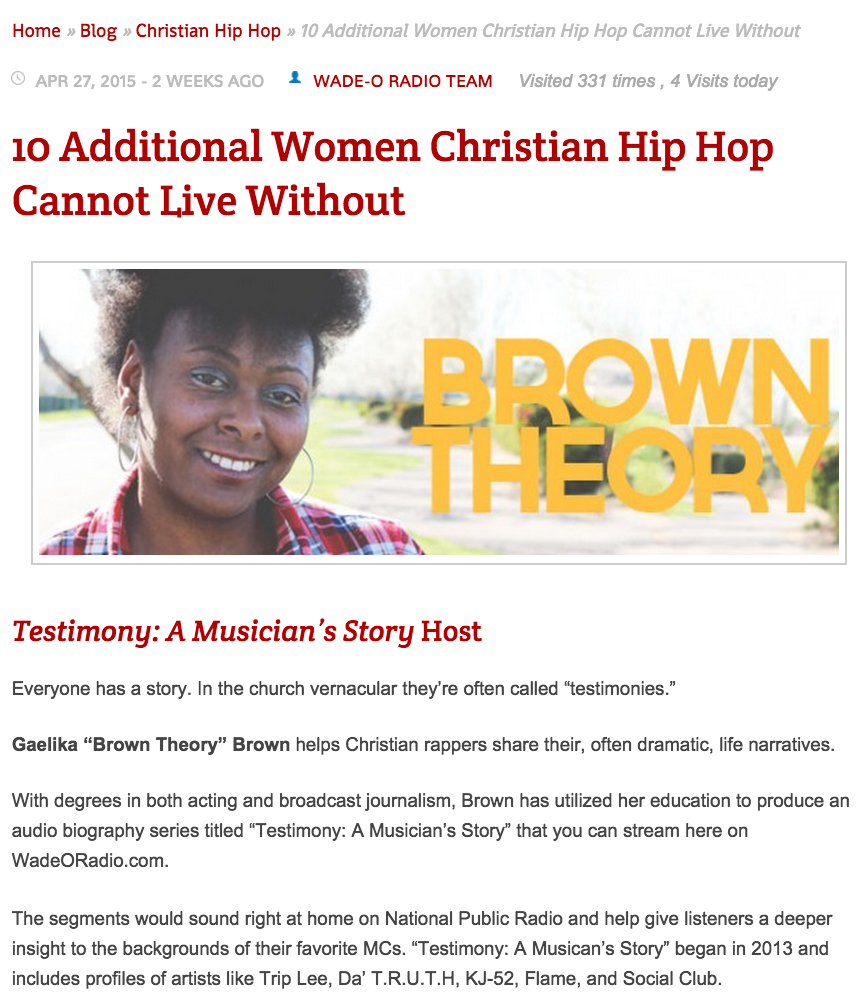 http://wadeoradio.com/10-additional-women-christian-hip-hop-cannot-live-without/11/