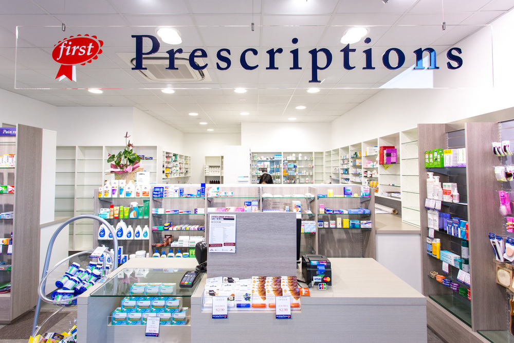 Fairy springs pharmacy rotorua lloyd sinton design for Interior designs rotorua