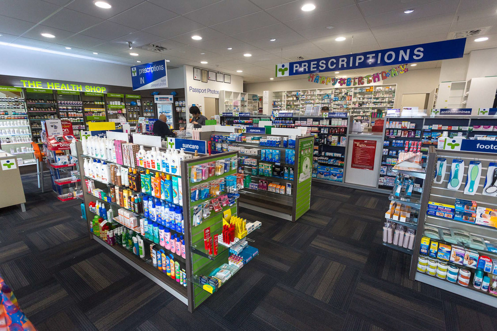 Health New Lynn 7 Day Pharmacy interior