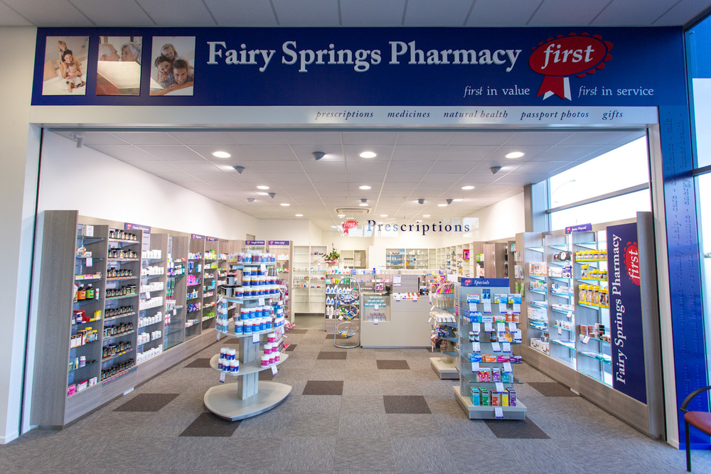 Fairy Springs Pharmacy entrance