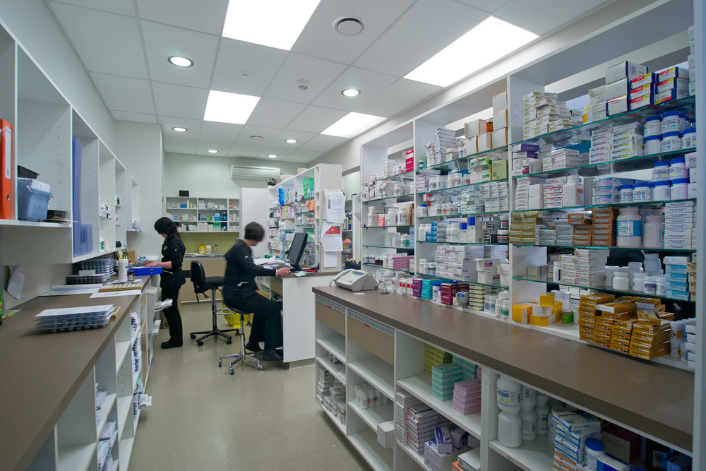 Unichem Olsen's Pharmacy staff area