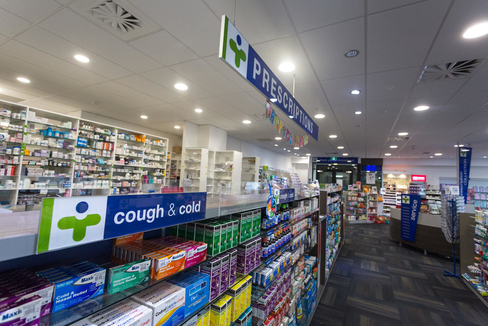 Health New Lynn 7 Day Pharmacy prescription area