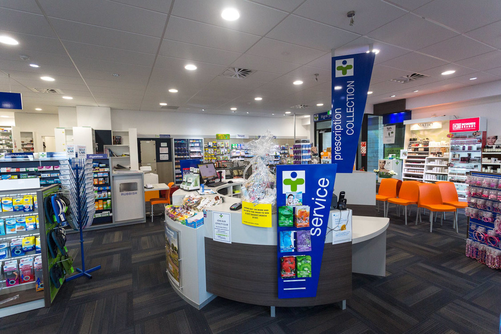 Health New Lynn 7 Day Pharmacy prescription collection counter