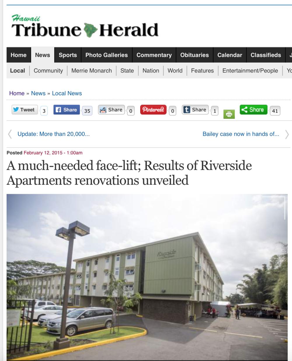 Hawaii Tribune Herald