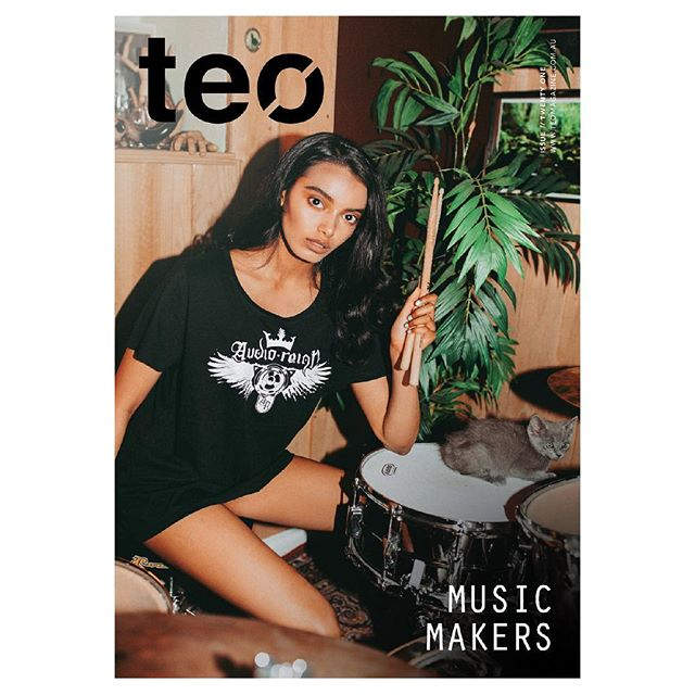 Issue 21 'MUSIC MAKERS' is live. Check it out online at:  teomagazine.com.au/issue-21 (link in bio)  Photo: @katesantosh_ from @finesse_models_australia x @rockretroscissors x @brookekastelyn_mua x @osbornavenue x @wadewhitington x @audioreign x @wundenbergs.  Photo features Agato from @catafinc.  #teo #teomag #teomagazine #musicmakers #finessemodels #katesantosh #audioreign #wundenbergs #wundenbergsrecordingstudio