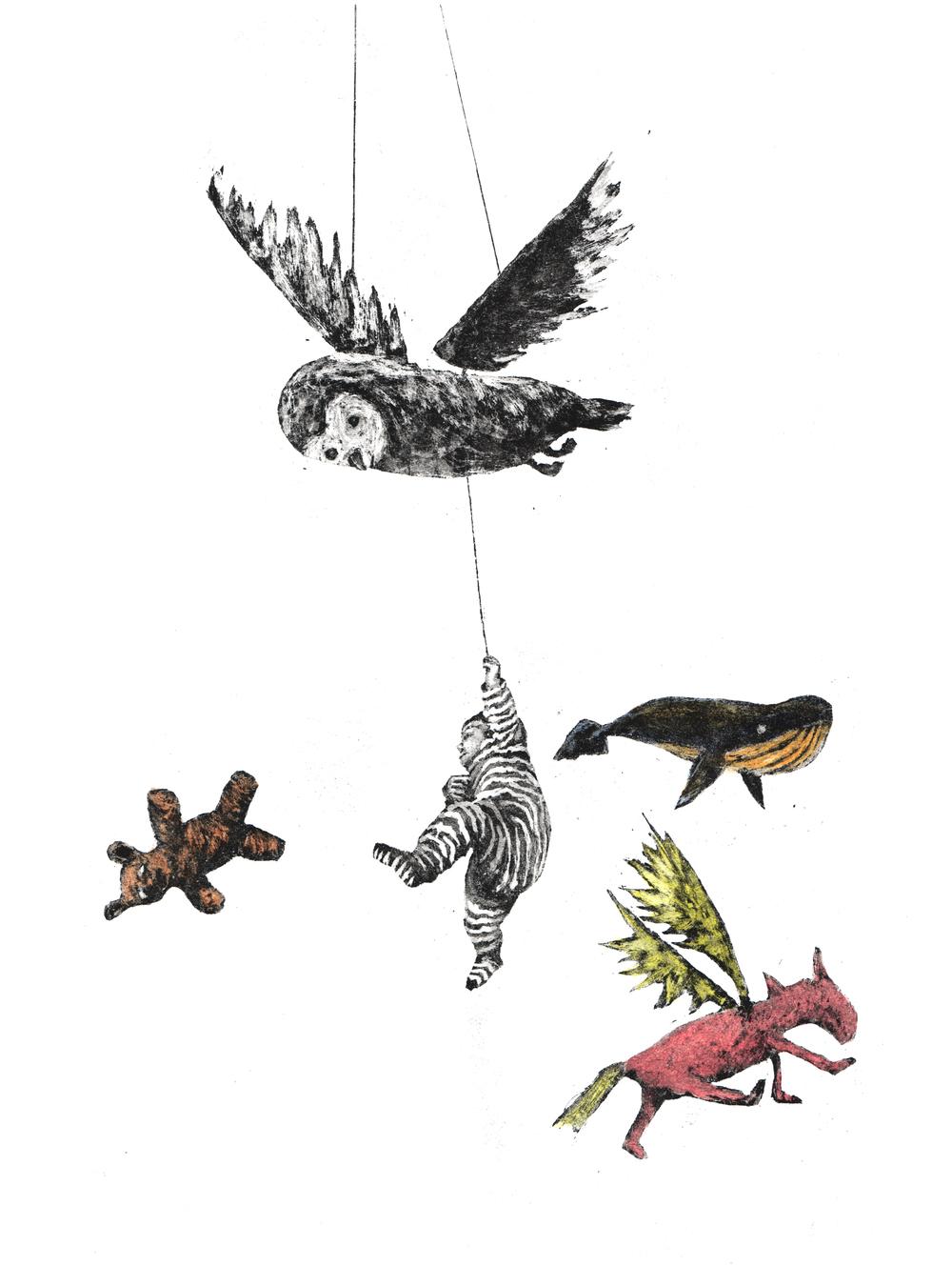 2014  illustration  Hoivaa ja leiki, Ryhmäinterventio raskaana oleville äideille (Lahden Diakoniasäätiön julkaisuja, 2015)