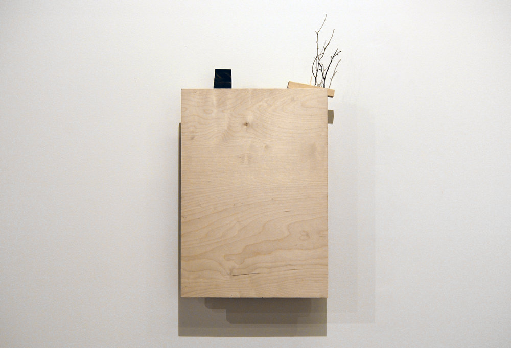 Maisemakone / Landscape machine 2018  puu ja moottori / wood and motor