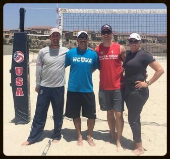 WCVA Senior Coaches with USAV BCAP Cadre