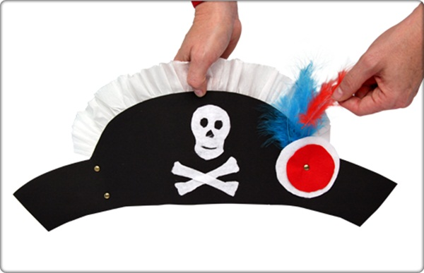 Design your own Pirate Hat and Sword