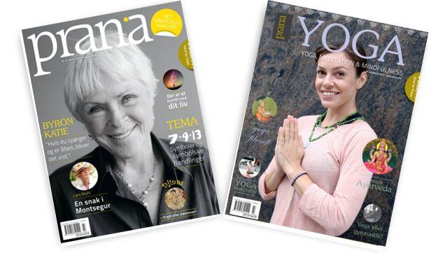 Artikel i Prana Magasinet nr 23: Kundalini yoga - min vej ud angst på 3 min (s 50)